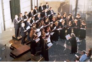 Cortile di Palazzo Braschi - Roma - luglio 2002 musiche di Janequin, Banchieri; Dallapiccola e Petrassi