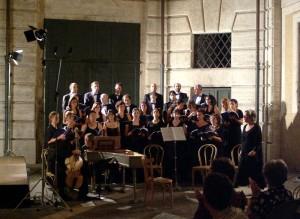 Cortile di Palazzo Braschi - Roma - luglio 2003 musiche di Gabrieli e Monteverdi con la partecipazione del Balletto di Roma