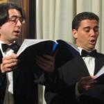 I solisti D. Paolini e A. Caroletti